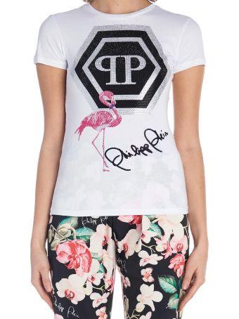 Philipp Plein 'flamingo' T-shirt
