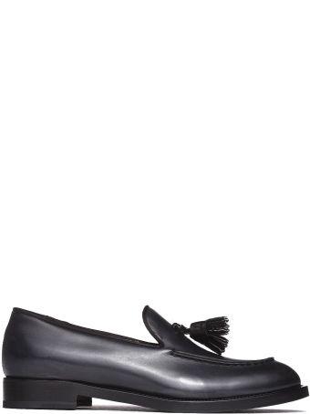 Fratelli Rossetti Loafer In Black Calfskin