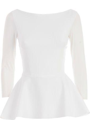 La Petit Robe Di Chiara Boni Chiara Boni La Petite Robe Peplum Top