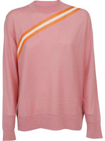 Calvin Klein Diagonal Striped Sweater