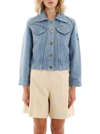 Patou Iconic Denim Shape Jacket