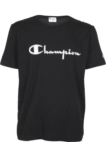 CHAMPION X Paolo Pecora Paolo Pecora For Champion Logo Print T-shirt