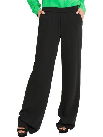 Parosh Cuffed Hem Trousers