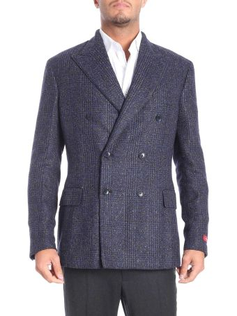 Ernesto Esposito Double-breasted Woolen Cloth Jacket