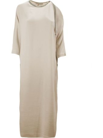 Fabiana Filippi Hydrangea Viscose Cady Dress