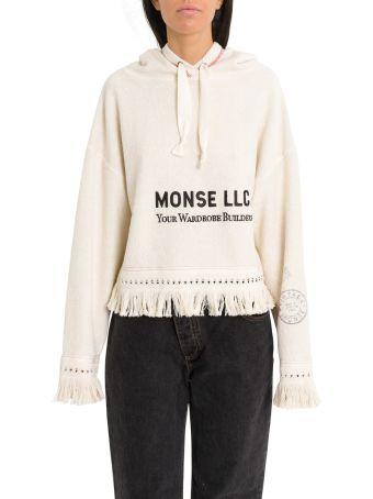 MONSE Monse Print Towel Hoodie