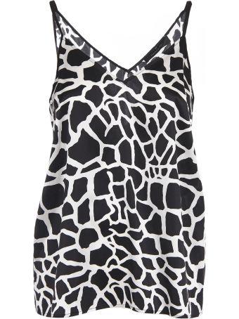 Federica Tosi Giraffe Print Top