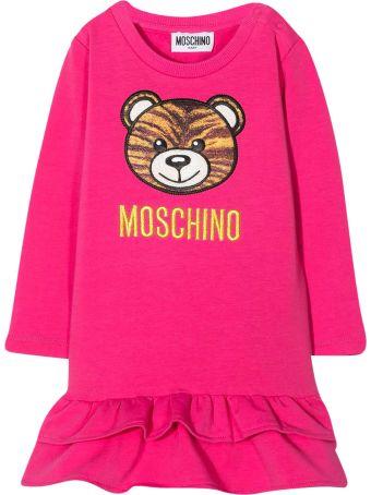 Moschino Fuchsia Baby Girl Dress