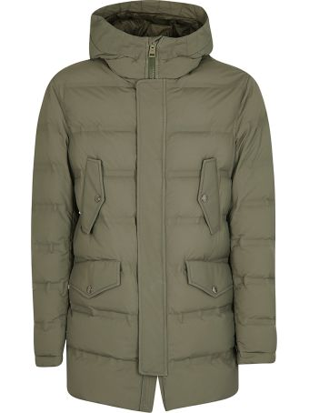 Kired Buttoned Pocket Padded Jacket