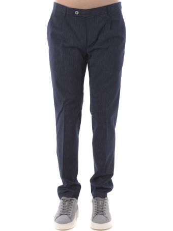 Daniele Alessandrini Pinstriped Trousers