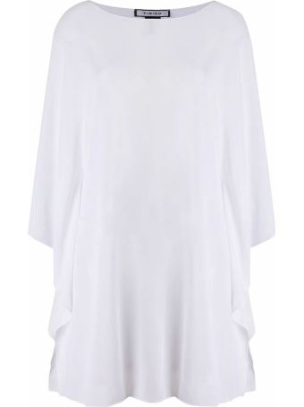 Fisico - Cristina Ferrari White Sheer Tunic Top