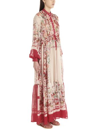 Black Coral 'sophie Strawberry' Dress