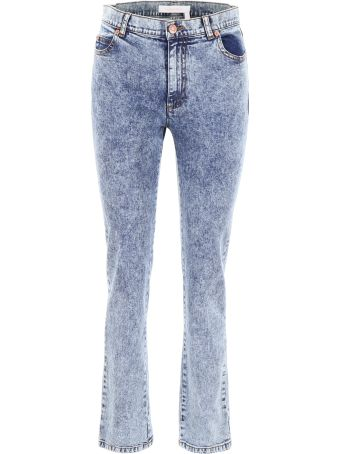 See by Chloé Bleached Jeans