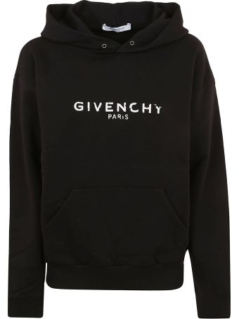 Givenchy Oversized Faded Logo Hoodie