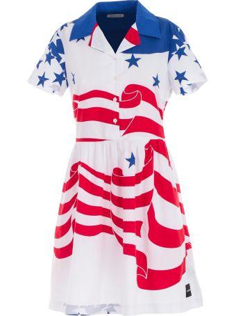 Calvin Klein Jeans Flag Print Dress