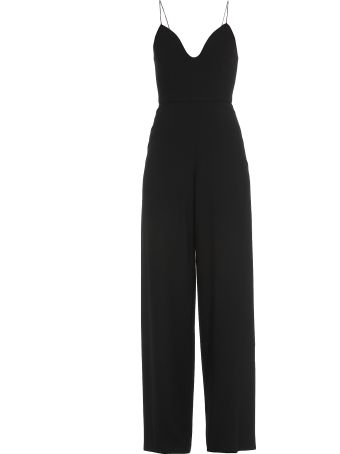 Alice + Olivia Plain Color Jumpsuit