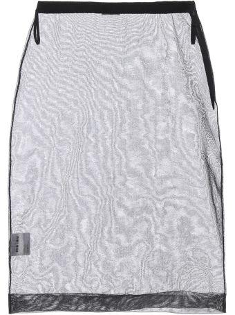 Miu Miu Sheer Pencil Skirt