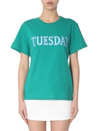 Alberta Ferretti Crew Neck T-shirt