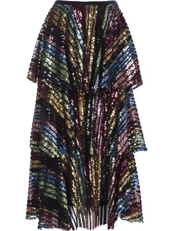 In The Mood For Love Layered Skirt