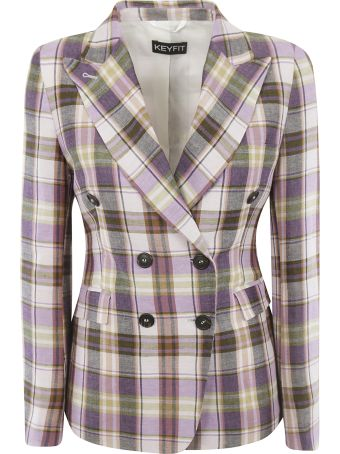 Kiltie & Co. Checked Blazer