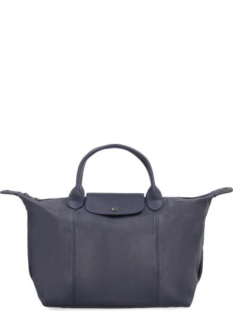 Longchamp Le Pliage Cuir Tote Bag