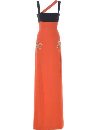 Fausto Puglisi Embellished Tree Dress