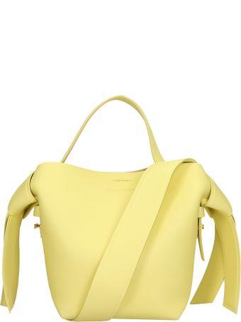 Acne Studios Yellow Leather Musubi Mini Bag