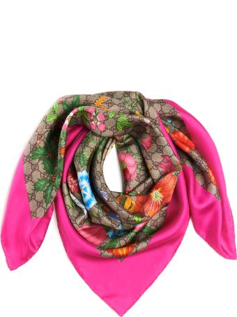 Gucci 'floral Fluo' Foulard