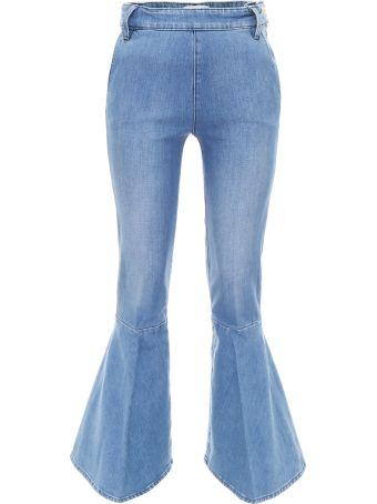 Frame Flounce Jeans