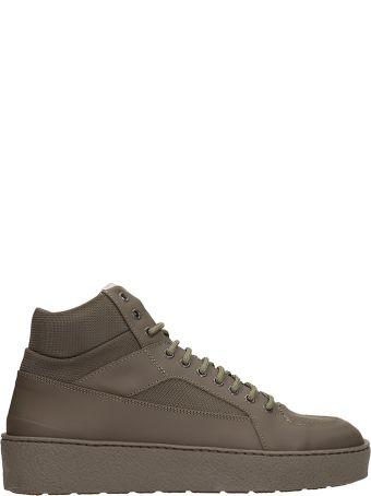Etq Green Fabric Ht02 Sneakers