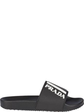 Prada Linea Rossa Logo Sliders