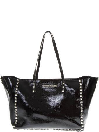 Marc Ellis Kassy Black Patent Leather Bag