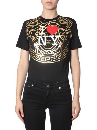 Versace T-shirt With I Love Ny Print