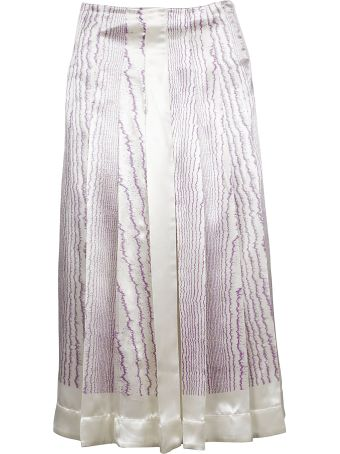 Victoria Beckham Patterned Skirt
