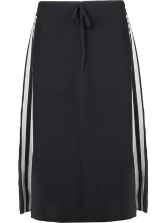 Parosh P.a.r.o.s.h. Side Striped Skirt