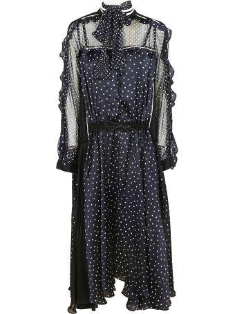 Sacai Asymmetric Maxi Dress