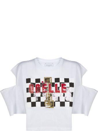 Gaelle Bonheur Cut Out T-shirt