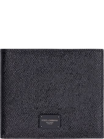 Dolce & Gabbana Leather Flap-over Wallet