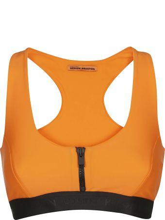 HERON PRESTON Zipped Sports Bra