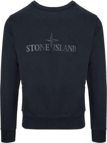Stone Island Classic Printed Sweatshirt