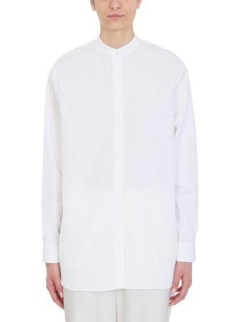Jil Sander Mao Collar Oversize Shirt