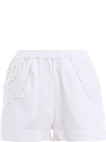 Ermanno Scervino Lingerie Embroidered Shorts