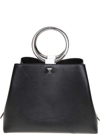 Salar Handbag Polly In Black Leather