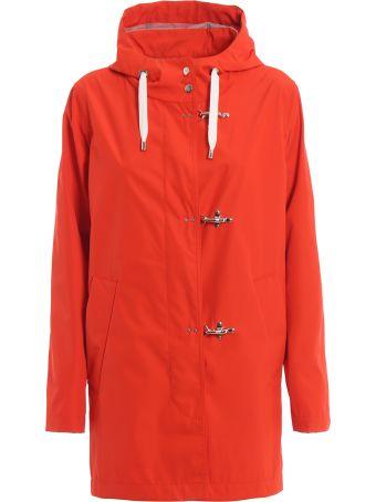 Fay Orange Tech Fabric Parka Naw15383430pgd068d