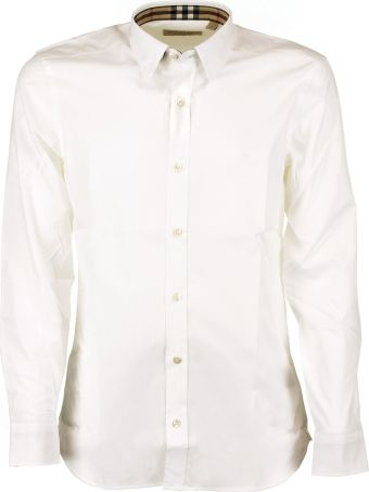 Burberry Checked-detail Shirt