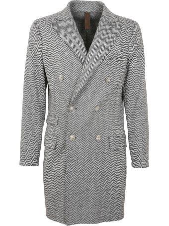Eleventy Herringbone Coat