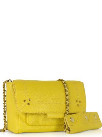 Jerome Dreyfuss Lulu S Mimosa Leather Shoulder Bag