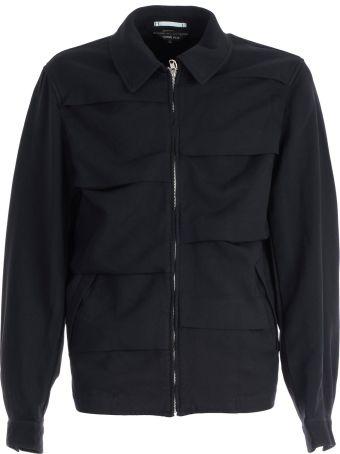 Comme Des Garçons Homme Plus Folded Stripe Jacket