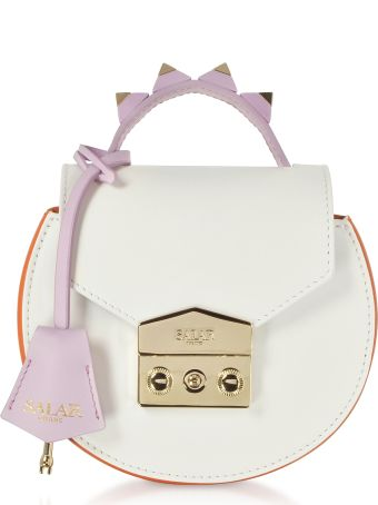 Salar Carol Multi Leather Top Handle Bag