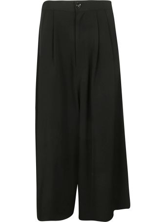 Y's Cropped Wide Leg Trousers